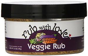 Rub With Love Veggie Rub 3.5 oz jar - Snazzy Gourmet