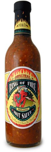 Ring of Fire X-tra Hot Habanero Hot Sauce, 12.5 oz - Snazzy Gourmet