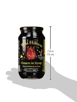 WILD HIBISCUS FLOWER COMPANY Syrup, 2.5 Pound - Snazzy Gourmet