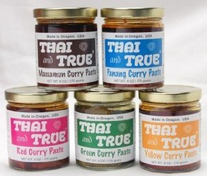Thai and True Curry Paste - 5 Flavor Sampler - Snazzy Gourmet