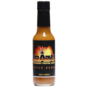 Irazu Scotch Bonnet Crushed Pepper Sauce, 5 oz - Snazzy Gourmet