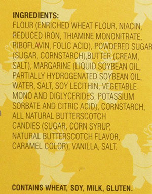 Flathau's Fine Foods Butterscotch Snaps, 8-Ounce Boxes (Pack of 6) - Snazzy Gourmet