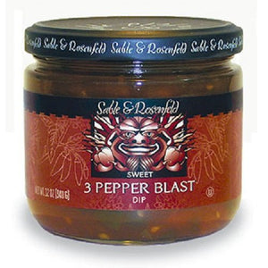 3 Pepper Blast Sweet Dip 12 oz jar (pack of 2) - Snazzy Gourmet