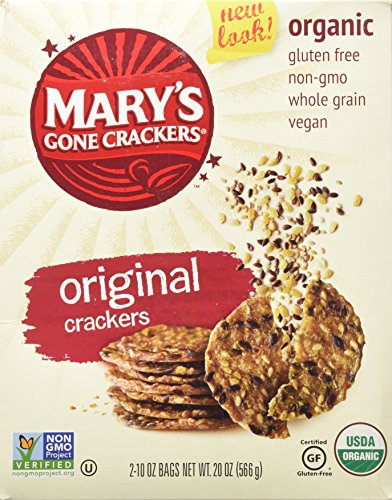 Organic Mary's Gone Crackers, 10 oz bag - 2 ct - Snazzy Gourmet