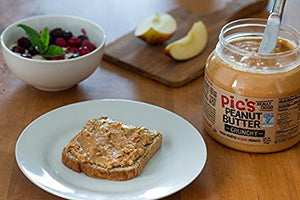 Picot Productions - Pic's Crunchy Peanut Butter, 2.2 Pounds - Snazzy Gourmet