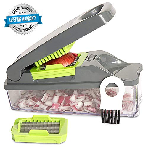 Mueller Austria Pro Strongest NO More TEARS Heavier Duty Multi Vegetable-Fruit-Cheese-Onion Chopper-Dicer-Kitchen Cutter - Snazzy Gourmet