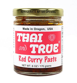 Thai and True Curry Paste - Red - Snazzy Gourmet