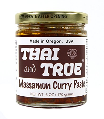 Thai and True Curry Paste - Massamun - Snazzy Gourmet