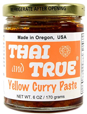Thai and True Curry Paste - Yellow - Snazzy Gourmet