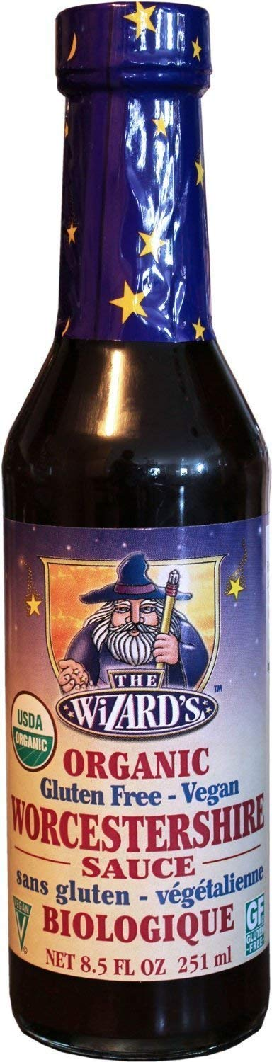 The Wizard's Organic, Gluten Free Vegan Worcestershire Sauce, 8.5 oz - Snazzy Gourmet