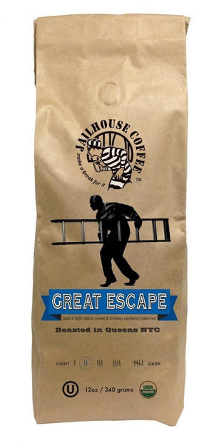 Great Escape Organic Blend Ground - Snazzy Gourmet