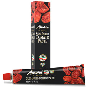 Amore Sun-Dried Tomato Paste, 2.8 Ounce Tube - Snazzy Gourmet