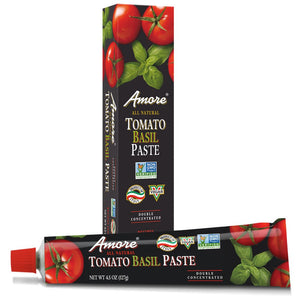 Amore Tomato Basil Paste, 4.5 Ounce Tube