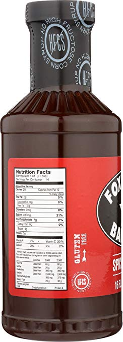 Fox Bros. Spicy BBQ Sauce 16oz - Snazzy Gourmet