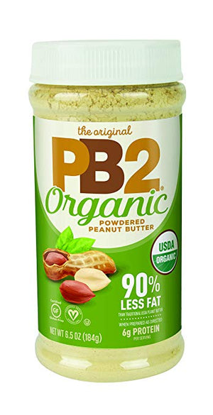 PB2 Organic Powdered Peanut Butter, 6.5 oz - Snazzy Gourmet