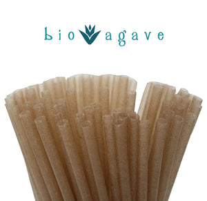 Natural Biodegradable Agave Drinking Straws - Snazzy Gourmet