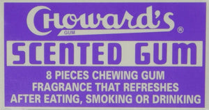 Choward's Old Fashioned Scented Gum - Snazzy Gourmet