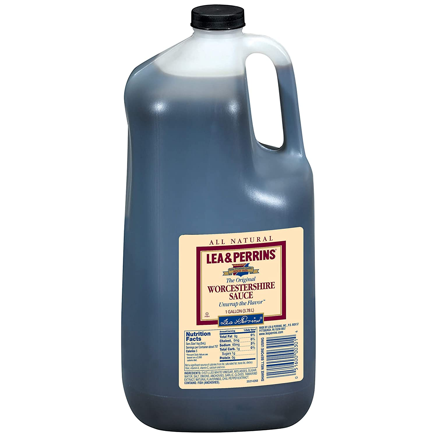 Lea & Perrins Worcestershire Sauce (1 Gallon Jug)