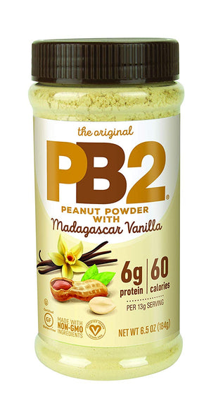 PB2 Powdered Peanut Butter With Madagascar Vanilla, The Original Powdered, 6.5 oz - Snazzy Gourmet