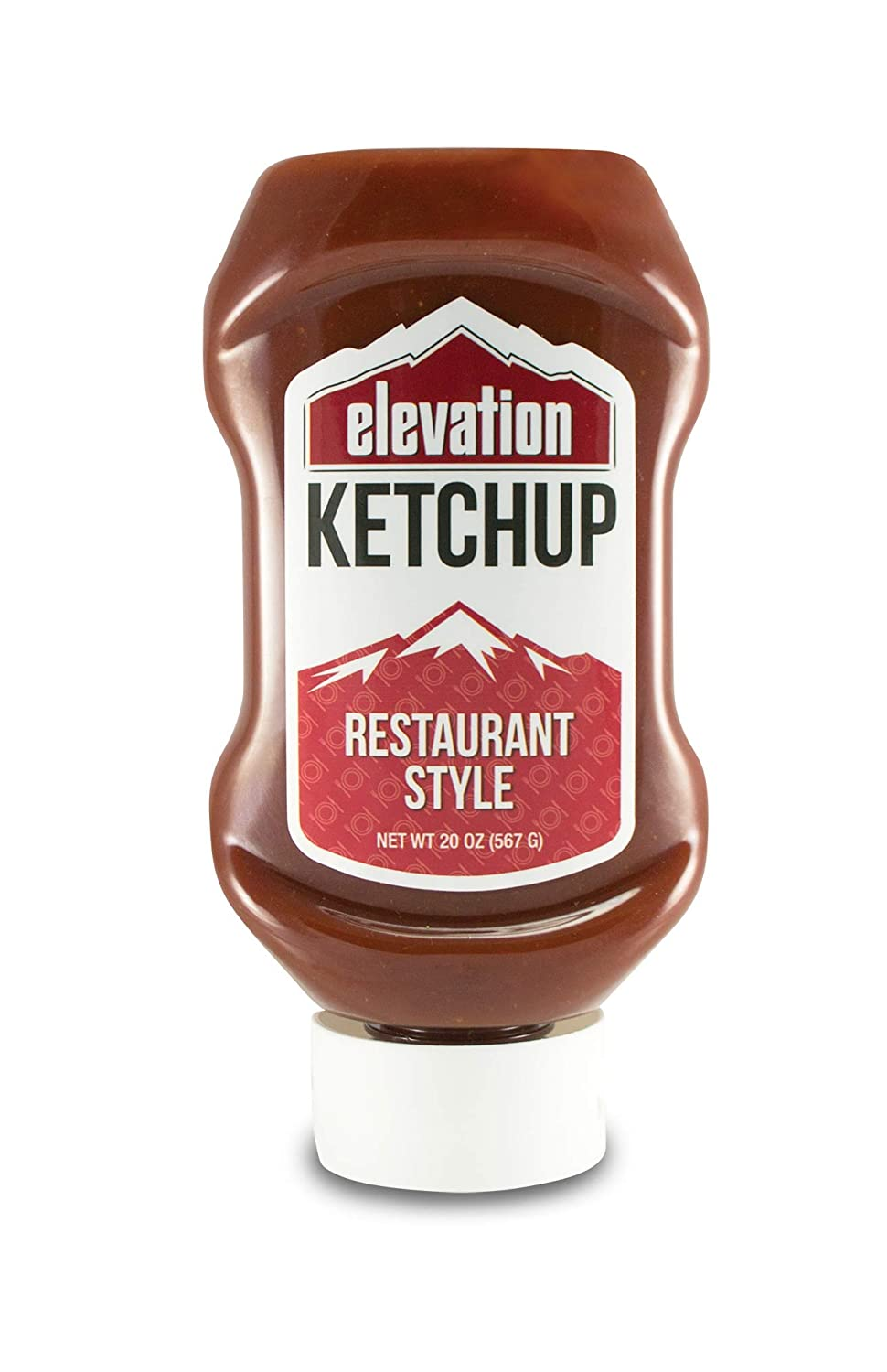 Elevation Organic Ketchup - Restaurant Style, 20 oz