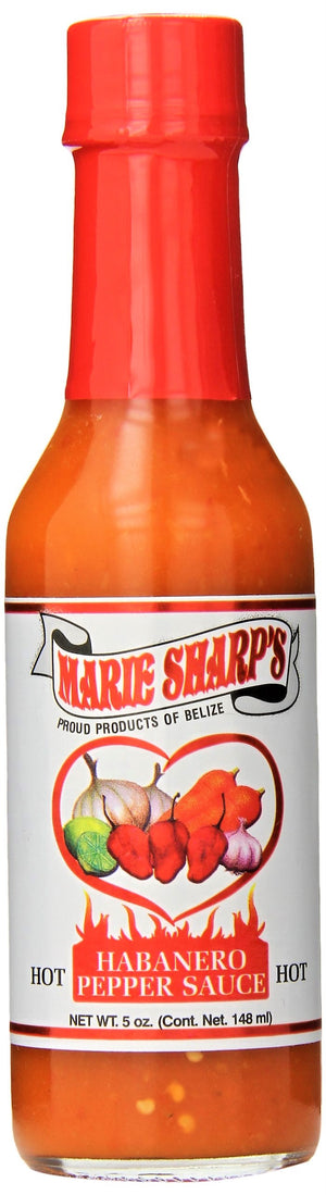 Marie Sharp's Hot Sauce, Habanero Pepper, 5 oz - Snazzy Gourmet
