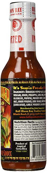 Iguana En Fuego Ultra Hot Pepper Sauce, 5oz - Snazzy Gourmet