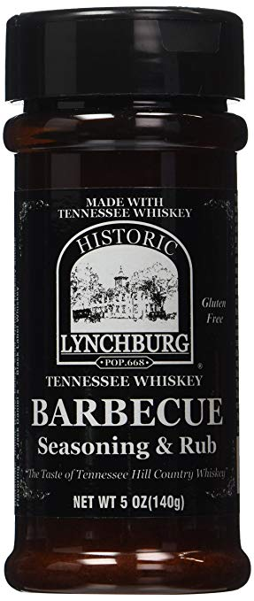 Historic Lynchburg Tennessee Whiskey Barbecue Seasoning & Rub, 5 oz - Snazzy Gourmet