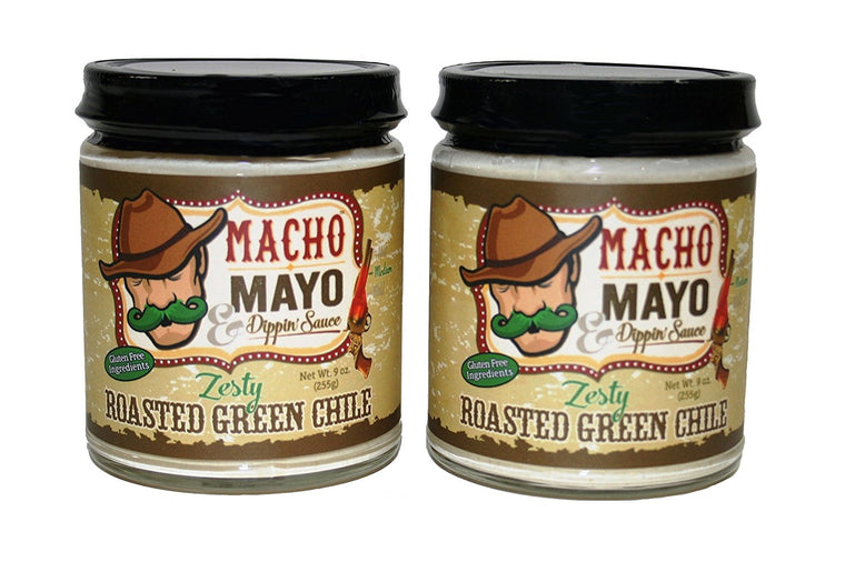 Macho Mayo Zesty Roasted Green Chile