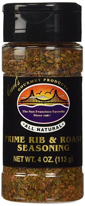 Carl's Gourmet All Natural Prime Rib & Roast Seasoning - 4 oz - Snazzy Gourmet