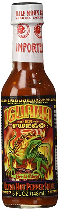 Iguana En Fuego Ultra Hot Pepper Sauce, 5oz