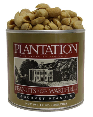 Gourmet Salted Peanuts, 12 Ounce Tin