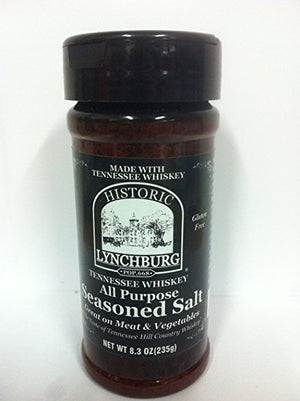 Historic Lynchburg Tennessee Whiskey All Purpose Seasoned Salt, 8oz - Snazzy Gourmet