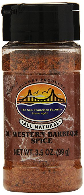 Carl's Gourmet All Natural Ol' Western BBQ Spice Seasoning & Meat Rub - 3.5 oz