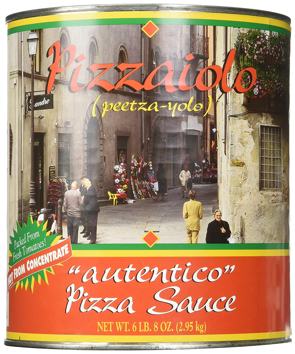 Pizzaiolo Pizza Sauce Autentico No. 10 Can (6 lb 8 oz)