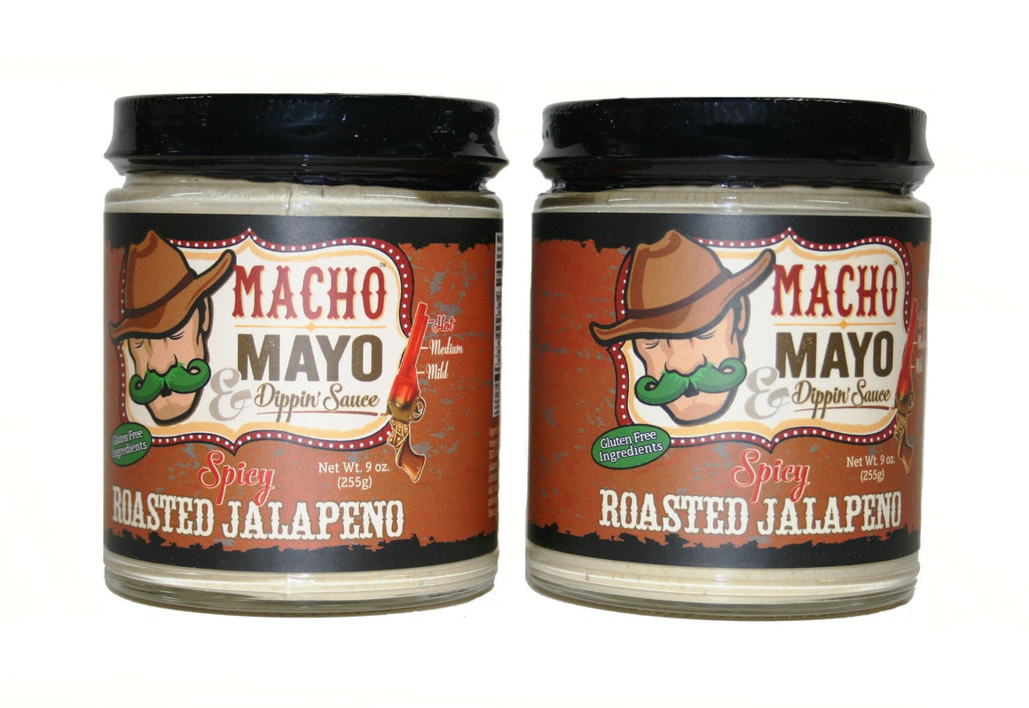 Macho Mayo Spicy Roasted Jalapeno