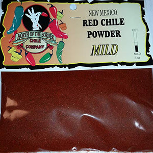 New Mexico Red Chile Powder Mild, 3 oz - Snazzy Gourmet