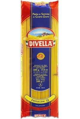 Divella Fettuccine Pasta #12 - Snazzy Gourmet