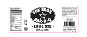Fox Bros. BBQ Sauce 1 Gallon - Snazzy Gourmet