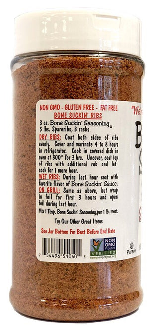 Bone Suckin'® Seasoning & Rub, 11.4 oz. - Snazzy Gourmet