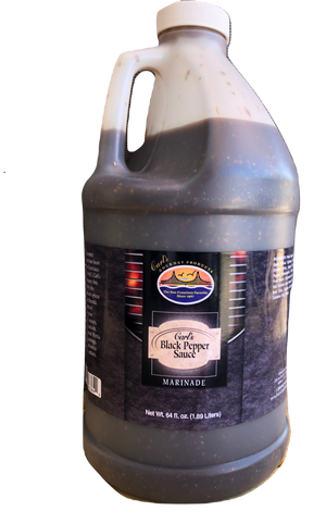 Carl's Gourmet Black Pepper Sauce & Marinade - 68 fl oz