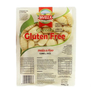Divella Gluten Free Gnocchi - Imported From Italy, 1.1 lbs (500g)
