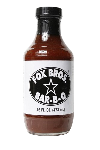 Fox Bros. BBQ Sauce 6-pack - Snazzy Gourmet