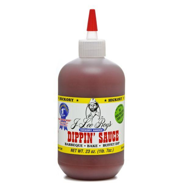 J Lee Roy's Dipping Sauce Hickory Smoke, 23 oz