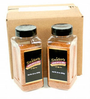 Snider's Dixie Style BBQ Seasoning, 22 oz - Snazzy Gourmet