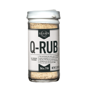 Lillie's Q Q-Rub Seasoning, 3.25oz - Snazzy Gourmet