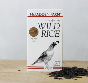McFadden Farm California Natural Wild Rice, 6 oz - Snazzy Gourmet