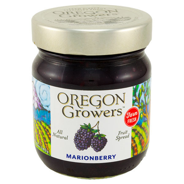 Oregon Growers Marionberry Fruit Spread 12 oz.