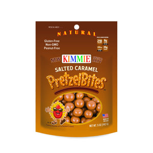 Kimmie Candy Gluten Free Natural PretzelBites™ Salted Caramel - Snazzy Gourmet