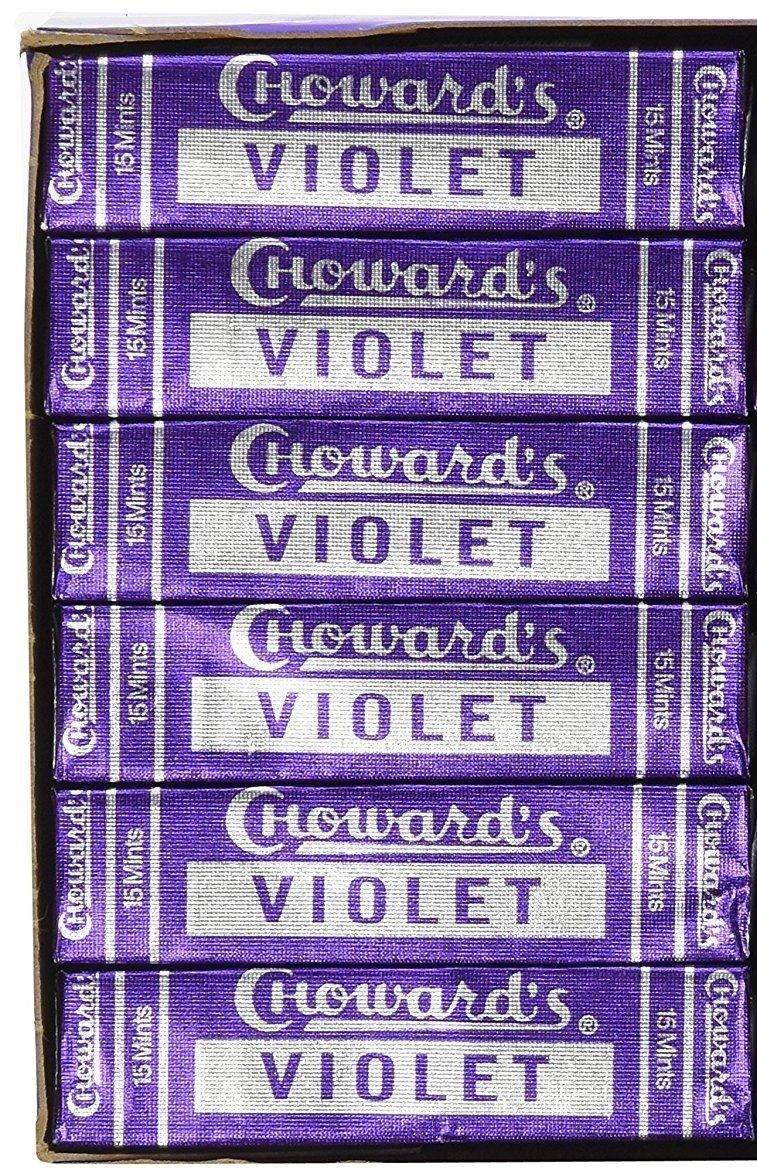 Choward's Old Fashioned Violet Mints - Snazzy Gourmet
