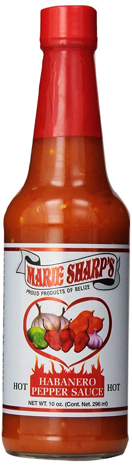Marie Sharp's Hot Sauce, Habanero Pepper, 10 oz - Snazzy Gourmet